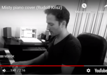 Misty piano cover