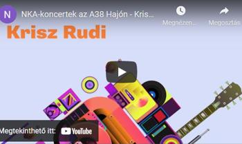 Krisz Rudolf NKA-koncert